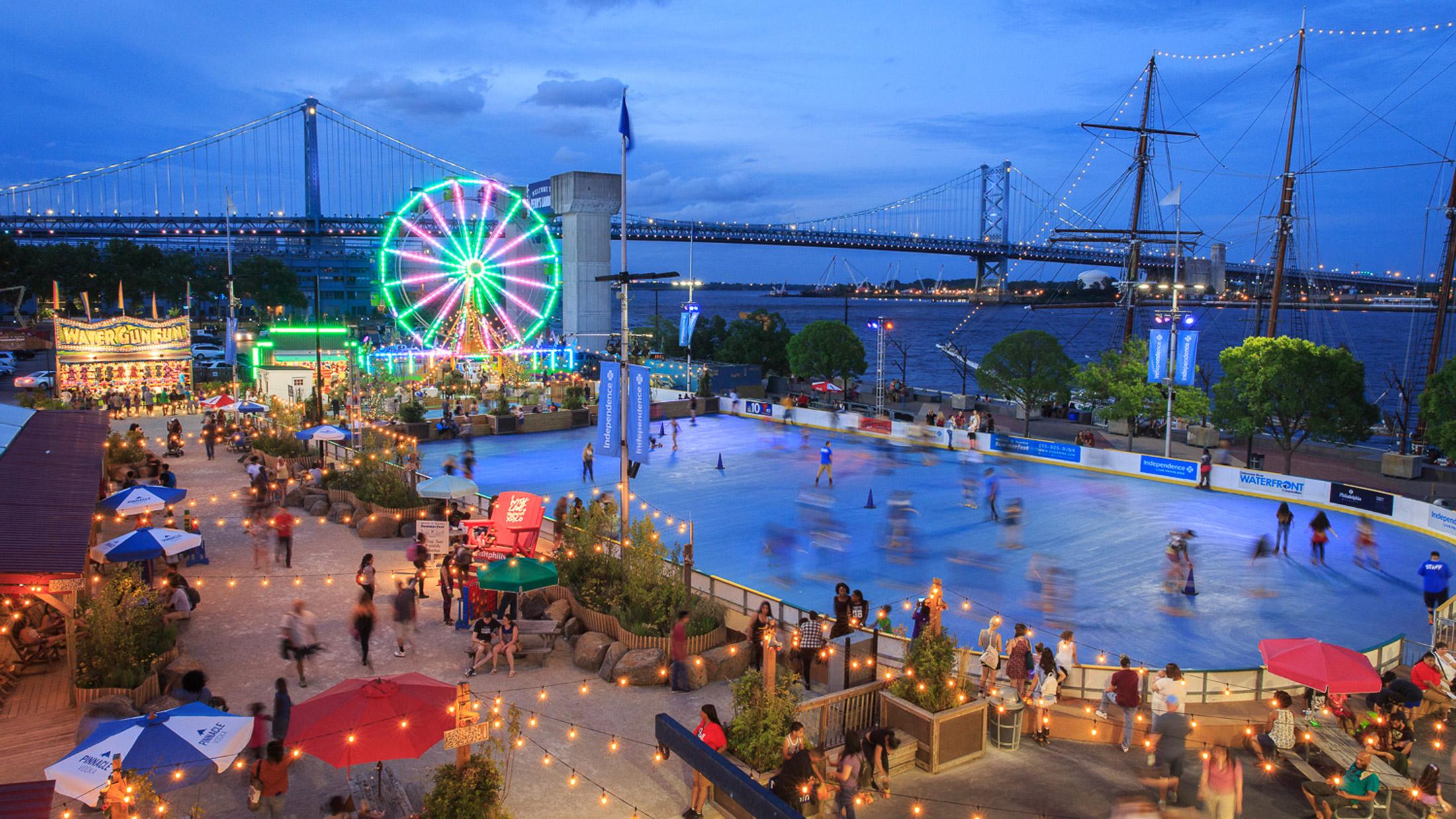 Blue Cross Riverrink Summerfest And The Midway Visit Philadelphia
