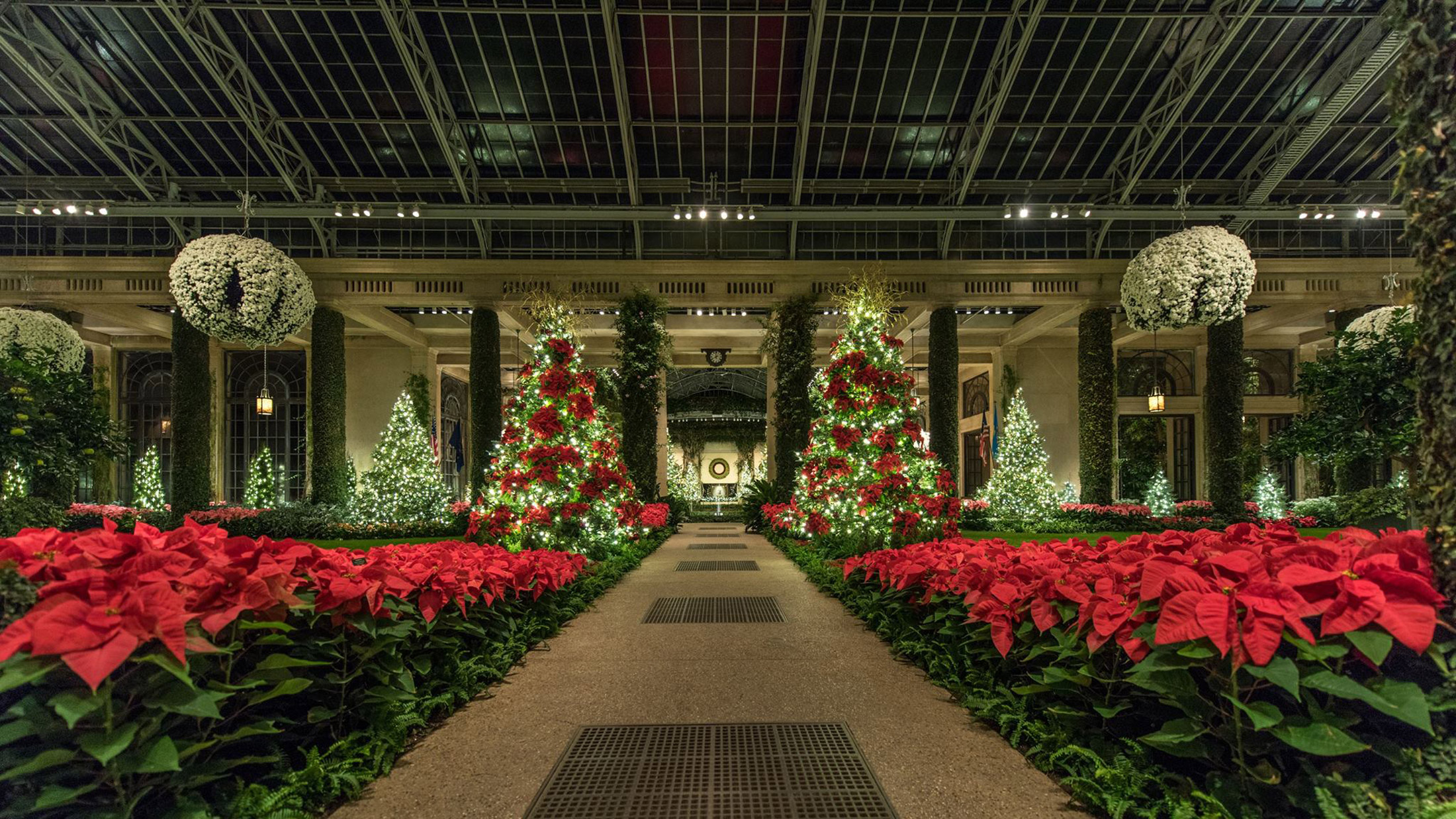 Longwood Gardens Christmas 2020 Prices A Longwood Christmas at Longwood Gardens — Visit Philadelphia