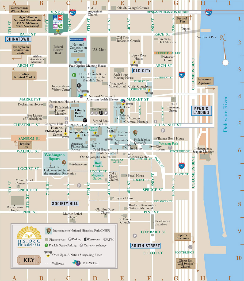 philadelphia tourist attractions map Getting Around Visit Philadelphia philadelphia tourist attractions map