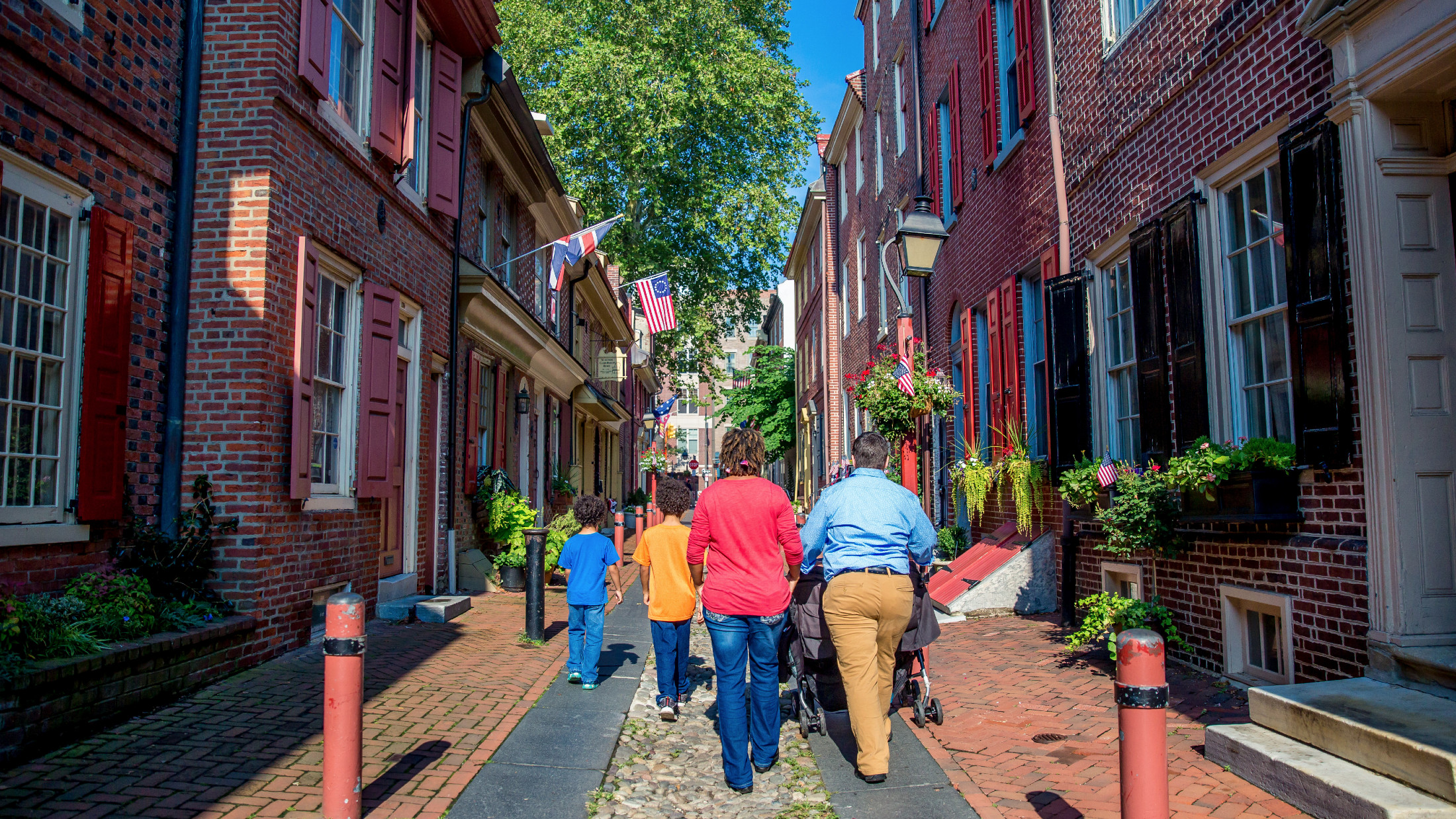 Elfreths Alley Christmas Tour 2020 Self Guided Driving & Walking Tours of Greater Philadelphia